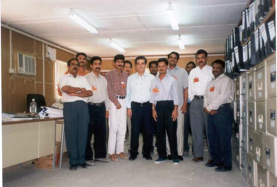 HGOSP (Hawiah Gaz Oil Separation Plant) KSA, Document Control Team