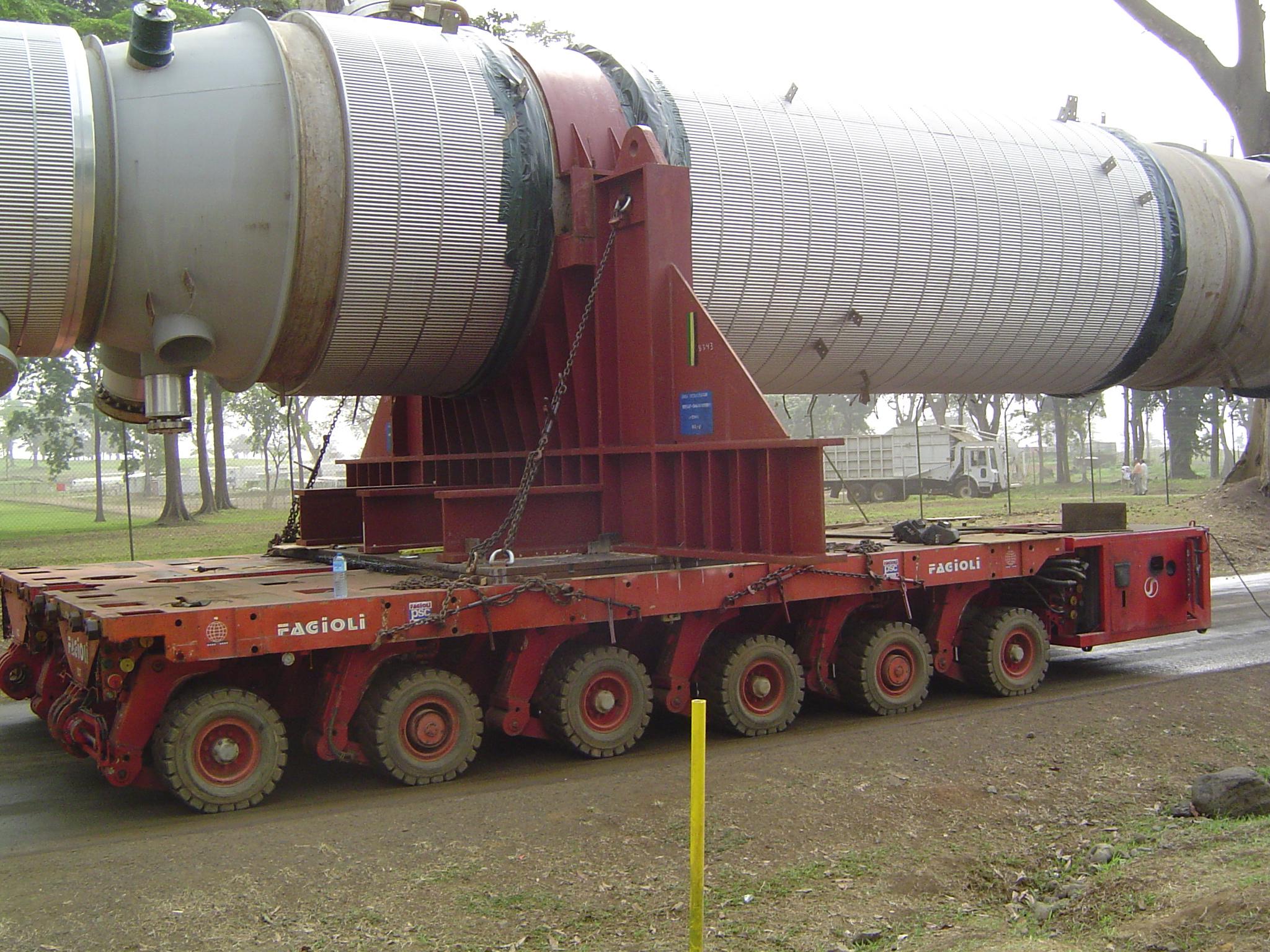 Alba phase 2 bioko island-equatorial Guinea, Africa silos transport and instellation